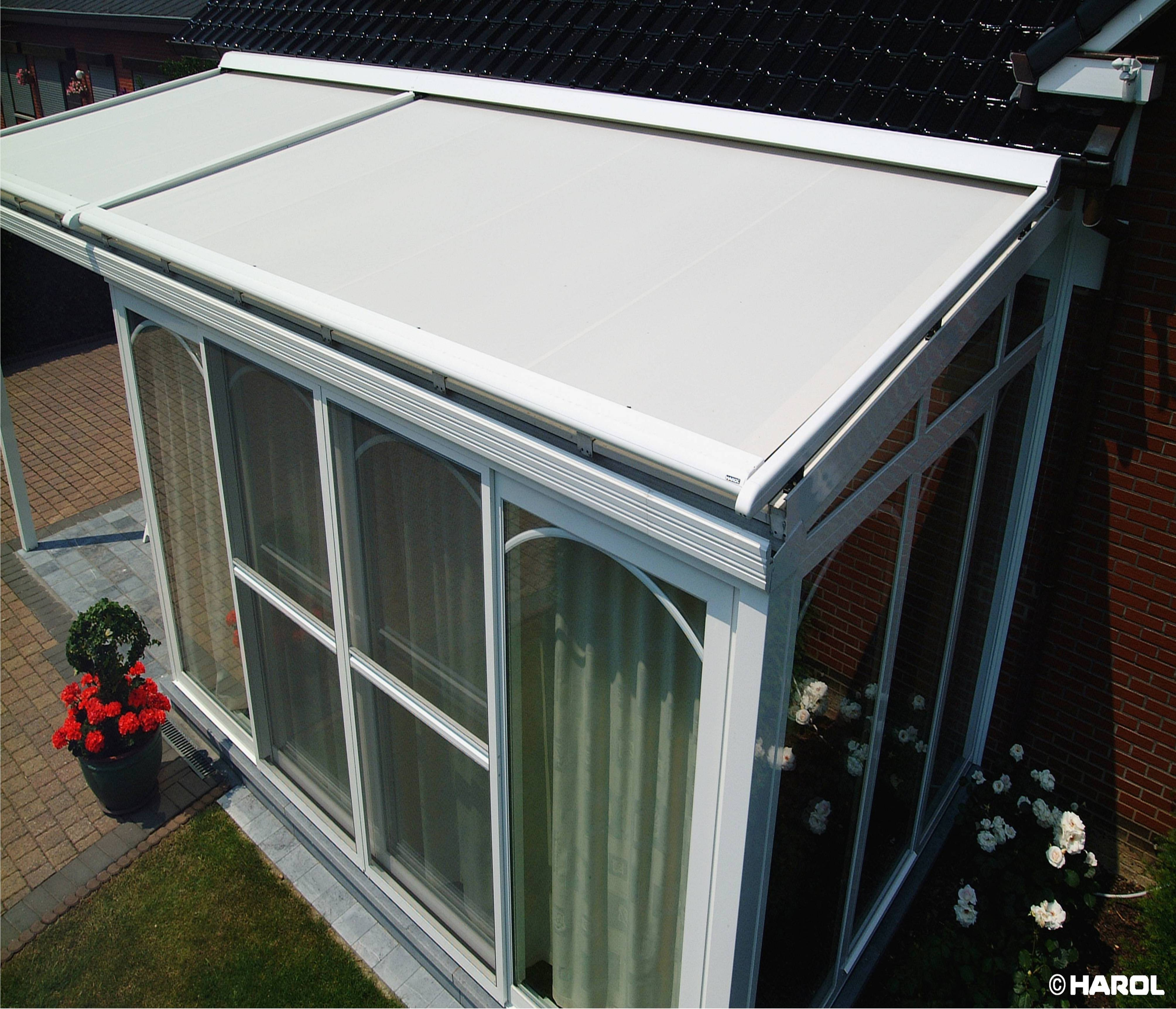 Awnings, including shop front, folding arm and conservatory roof awnings