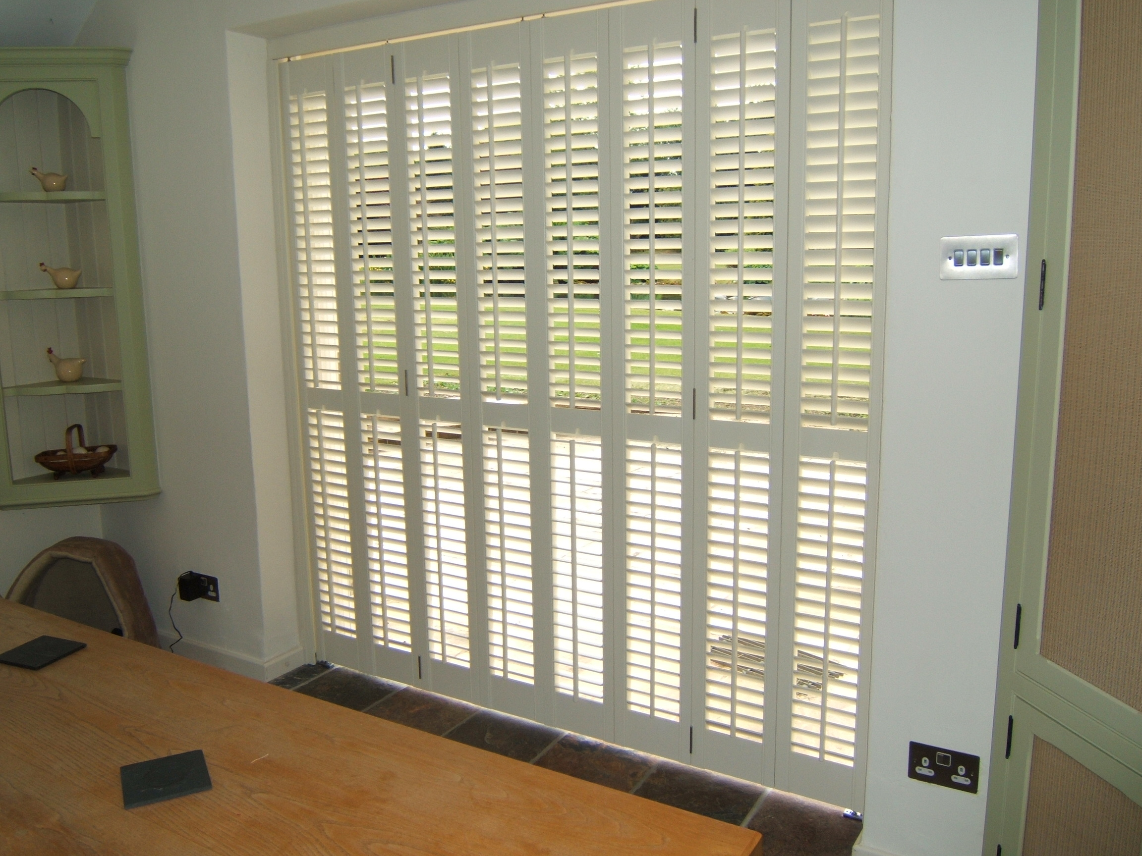 Plantation Blinds Including Full Height Shutters And